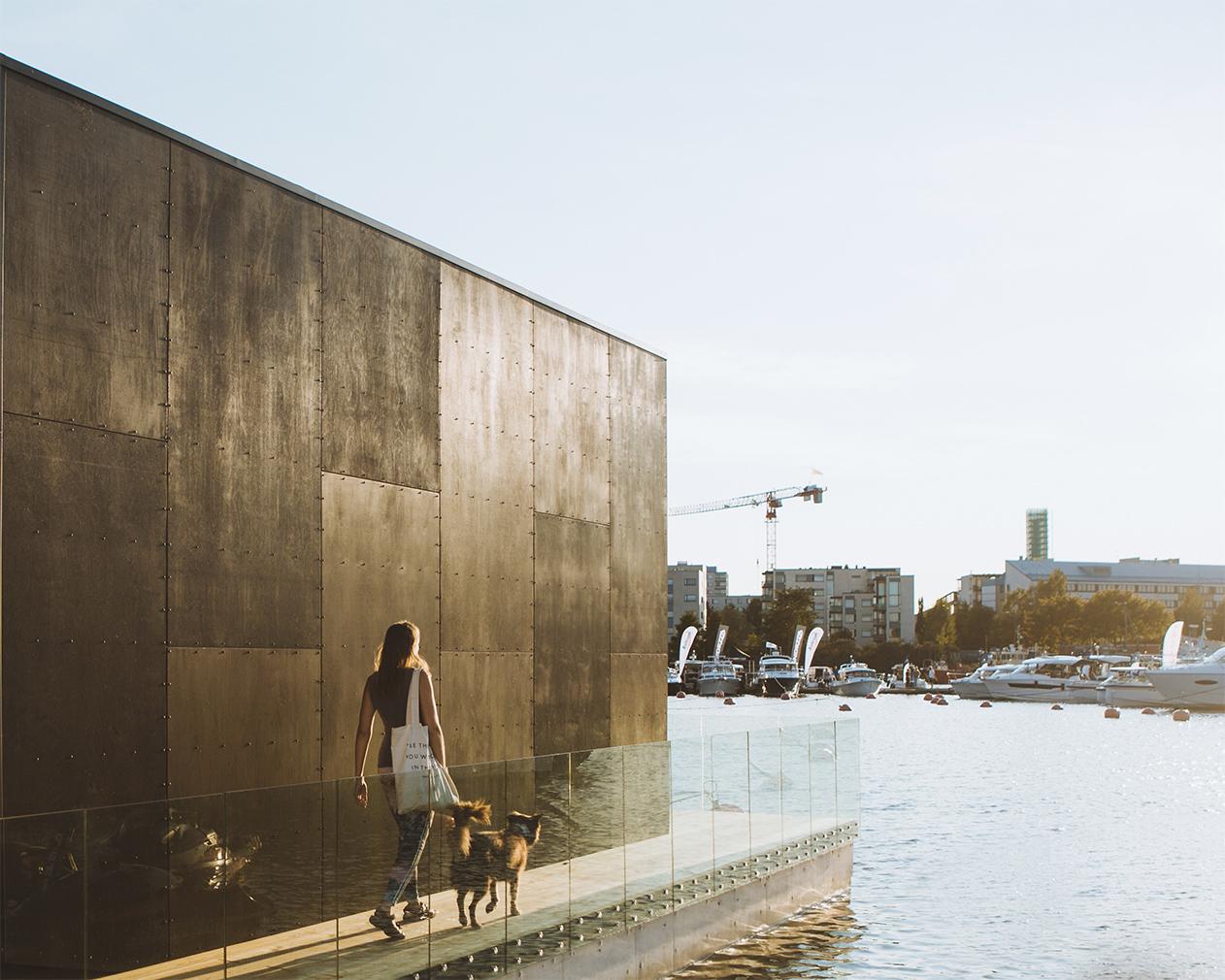 Kodasema's latest prefab rethinks the life aquatic with floating tiny home