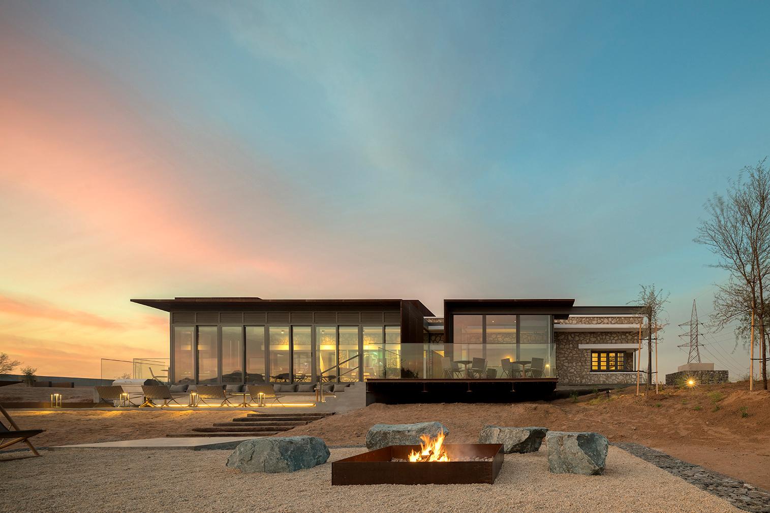 Al Faya Lodge and Spa in the United Arab Emirates
