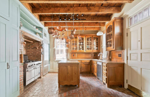 A 200-year-old wooden townhouse in Manhattan lists for $12m