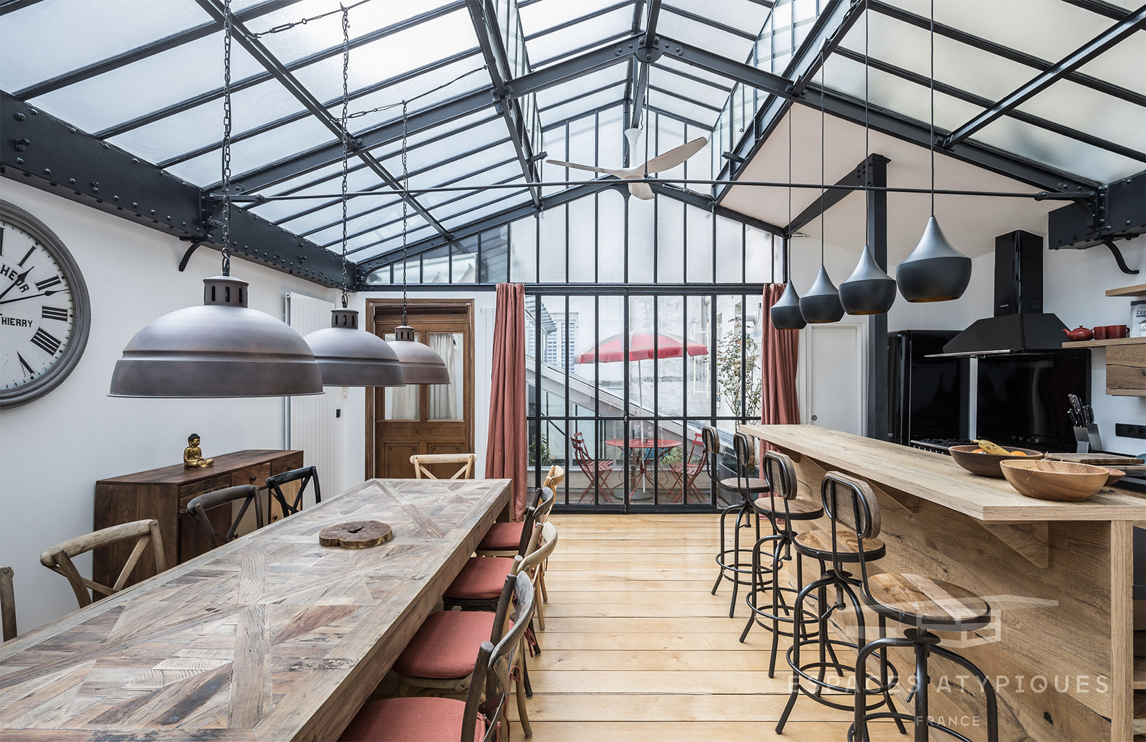 An Industrial Parisian Apartment Hits The Market For 2 295m The Spaces