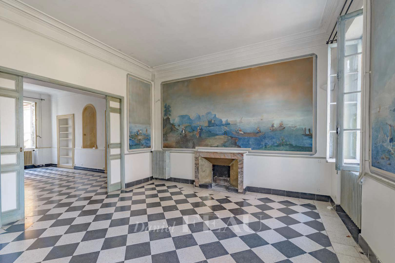 French Chateau for sale via Daniel Feau