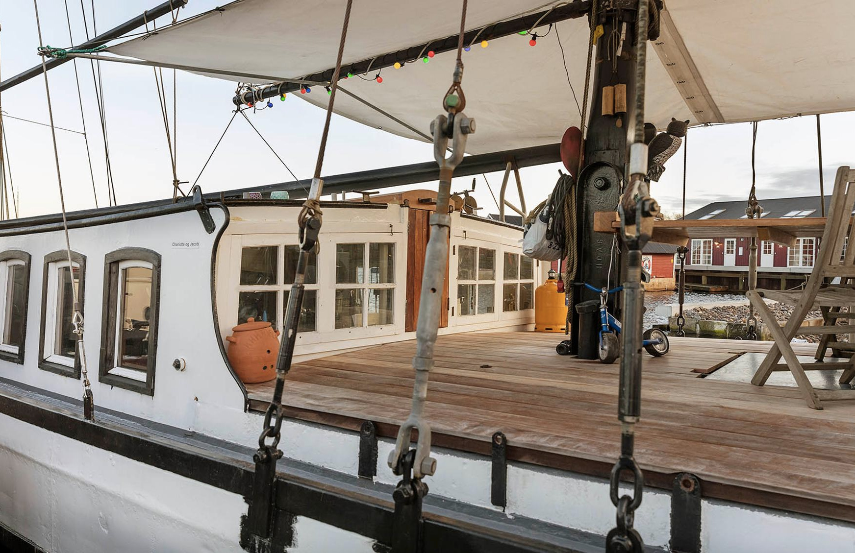 Floating homes, barges and boats for sale right now
