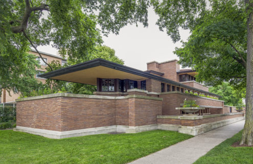 Frank Lloyd Wright's Robie house has reopened to the public