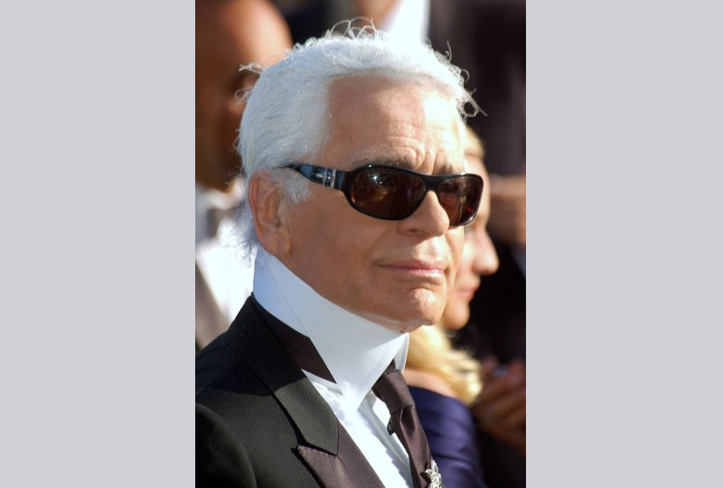 Karl Lagerfeld pictured in 2007