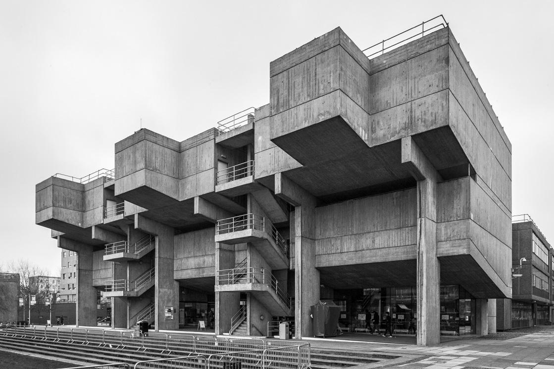 Lecture Theatre Block at Brunel University London