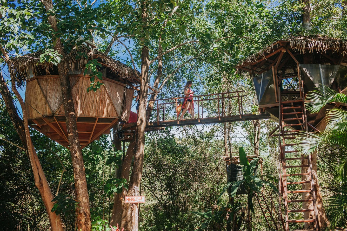 6 of the best Costa Rican holiday homes for rent: Montezuma Treehouse in Costa Rica
