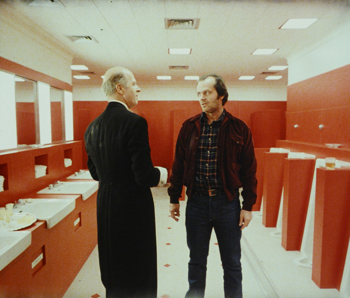 Bathroom set from <em>The Shining</em> (co) The Stanley Kubrick Archive