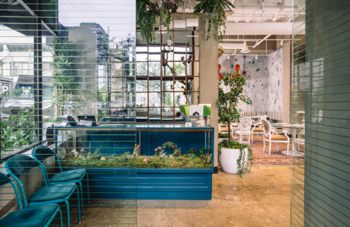 Toronto vegan restaurant Rosalinda has its own indoor 'greenhouse'