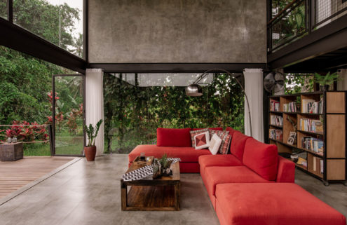 A taste of tropical modernism near Bali's Ubud