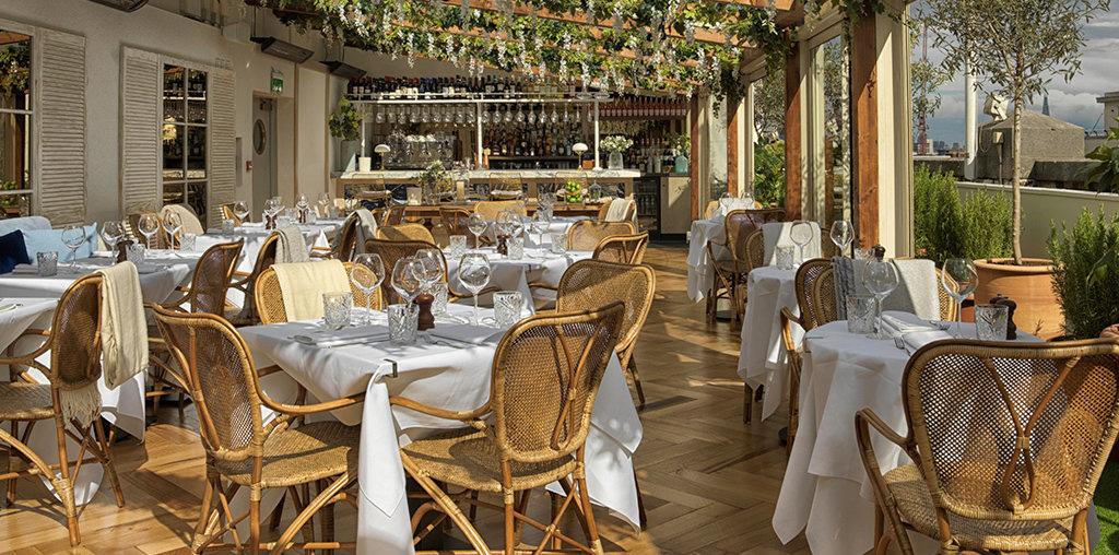 Aalto restaurant and rooftop bar, Selfridge's London