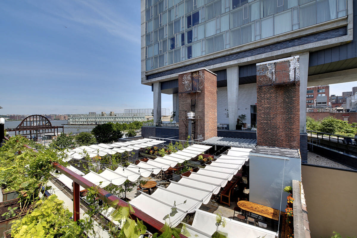 8 of our favourite New York rooftop bars this summer: Brass Monkey