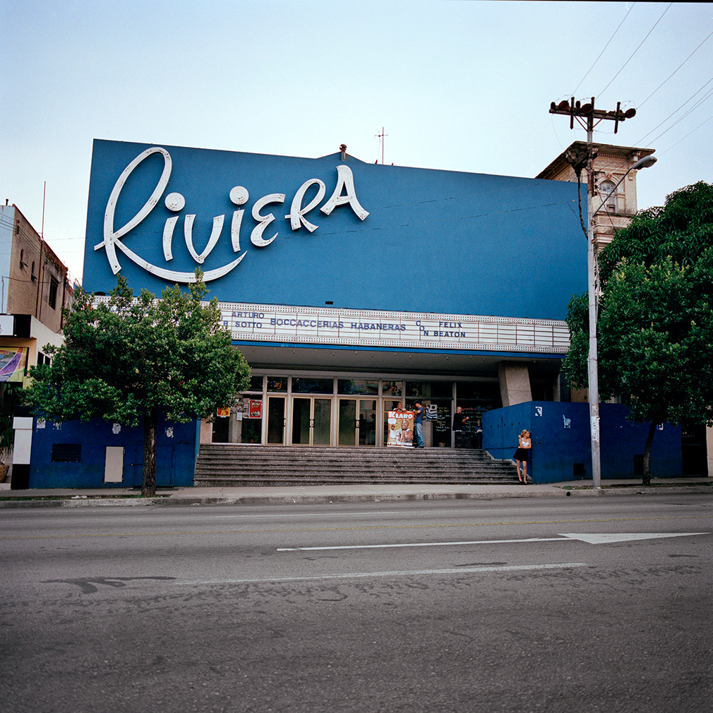 Cine Riviera (c) Carolina Sandretto, Cines de Cuba, Skira 2019