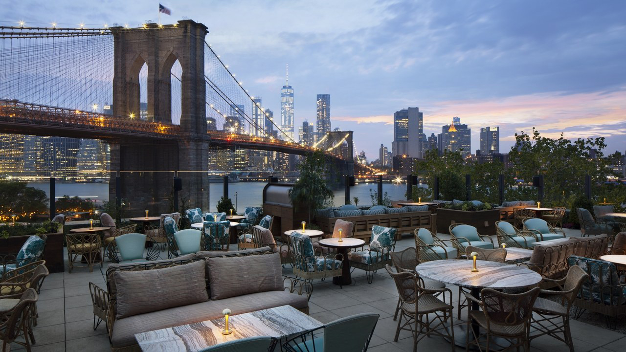 8 of our favourite New York rooftop bars this summer: Dumbo House in Brooklyn, Soho House