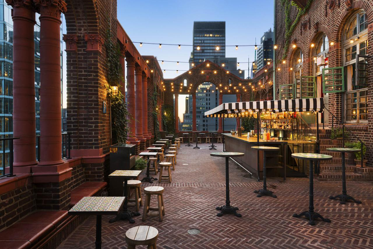 8 of our favourite New York rooftop bars this summer:  Hotel Pod 39