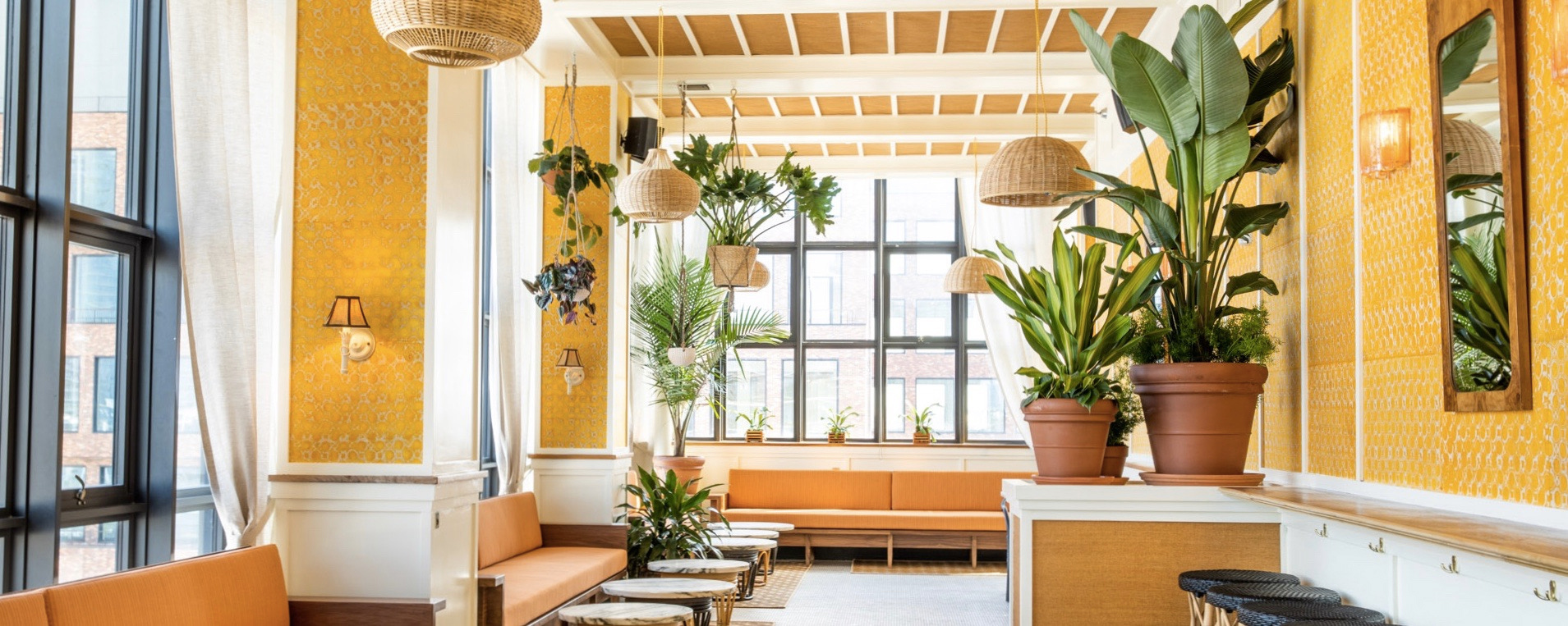 8 of our favourite New York rooftop bars this summer: Lemon's rooftop bar at the Wythe Hotel in Brooklyn