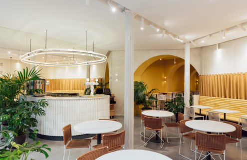 Barcelona's Bunsen restaurant embraces the city's architectural quirks