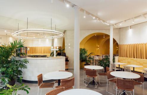 Barcelona's Bunsen restaurant embraces the city's architectural quirks