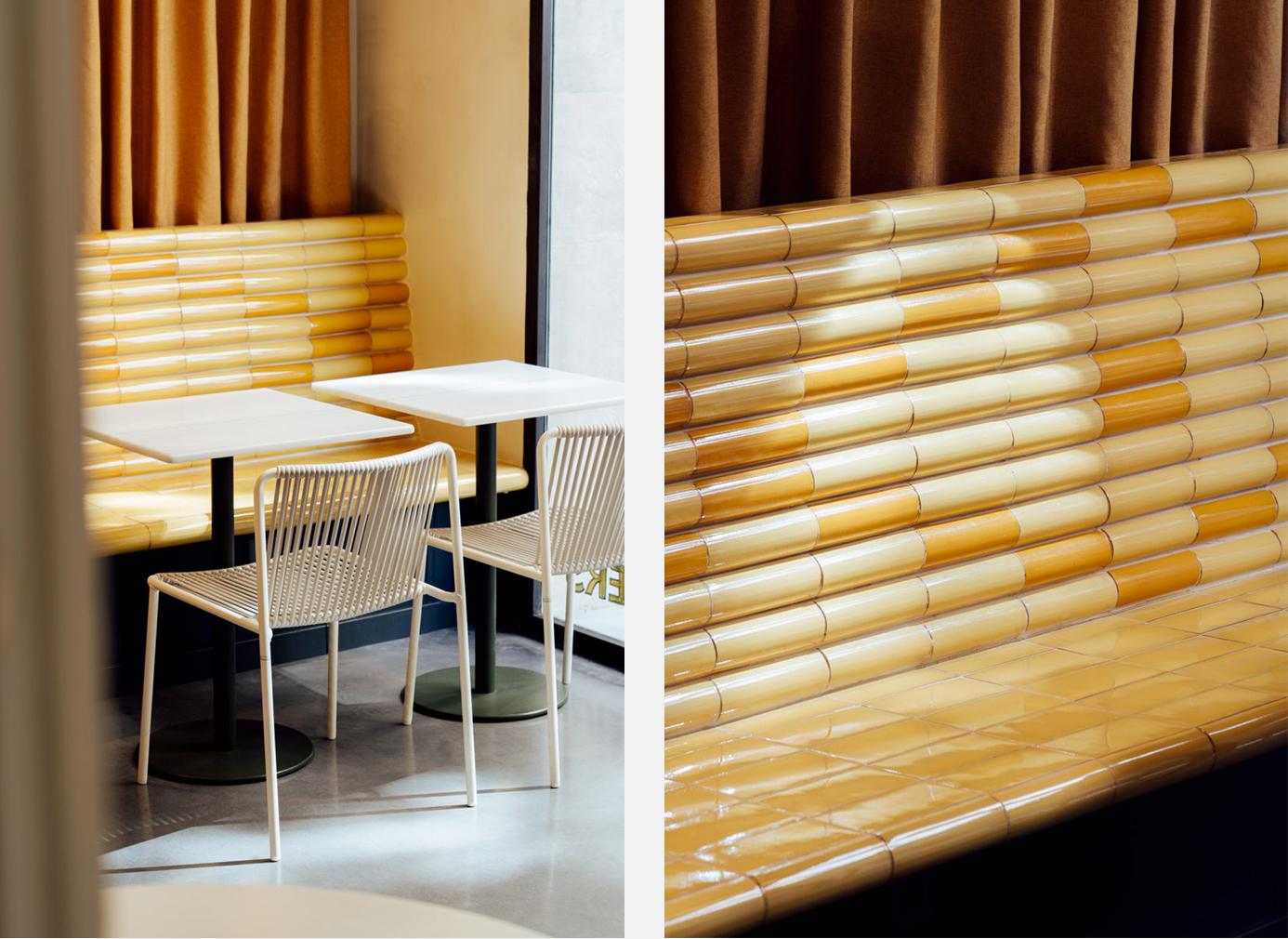 Barcelona's Bunsen restaurant designed by Mesura