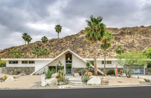 Palm Springs 'Swiss Miss House' hits the market for $3m