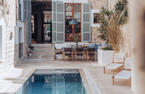 A Mallorcan townhouse with a Parisian twist is for sale in Sóller