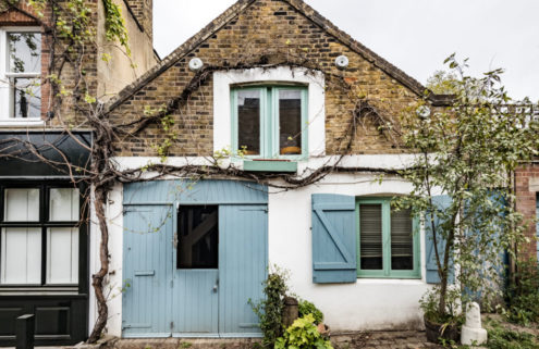A converted stable for sale via The Modern House in London