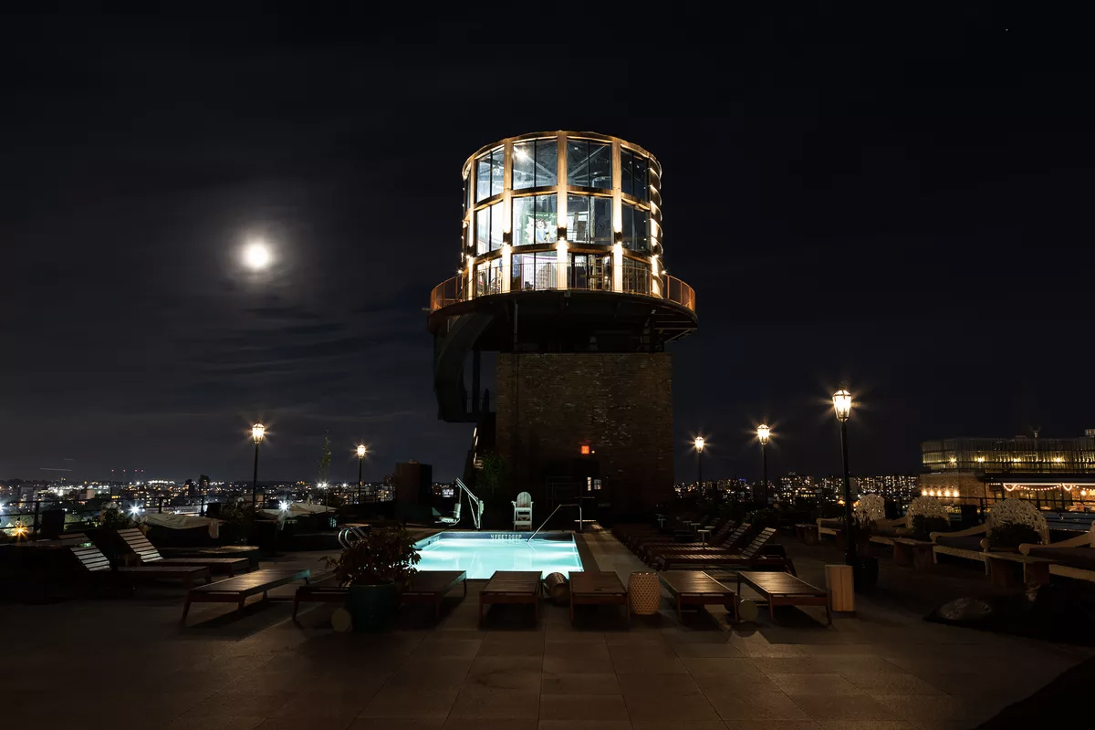 8 of our favourite New York rooftop bars this summer: The Water Tower