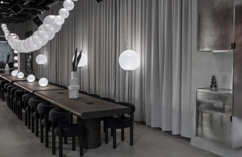 Tom Dixon designs a shoppable restaurant in Milan