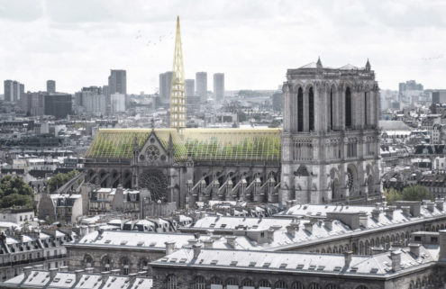 Could Notre-Dame's roof be rebuilt as a giant greenhouse?