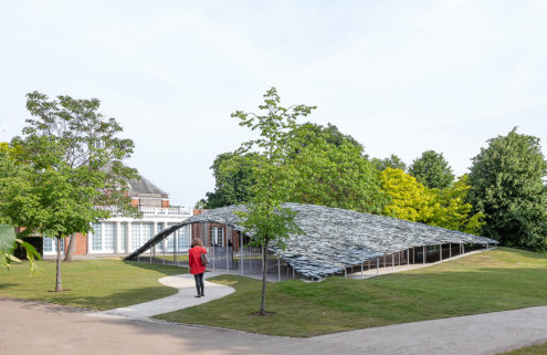 Inside Junya Ishigami's cave-like Serpentine Pavilion at London's Kensington Gardens