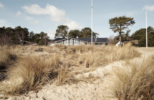 Historic 1930s beach resort for sale in Sweden's Skåne
