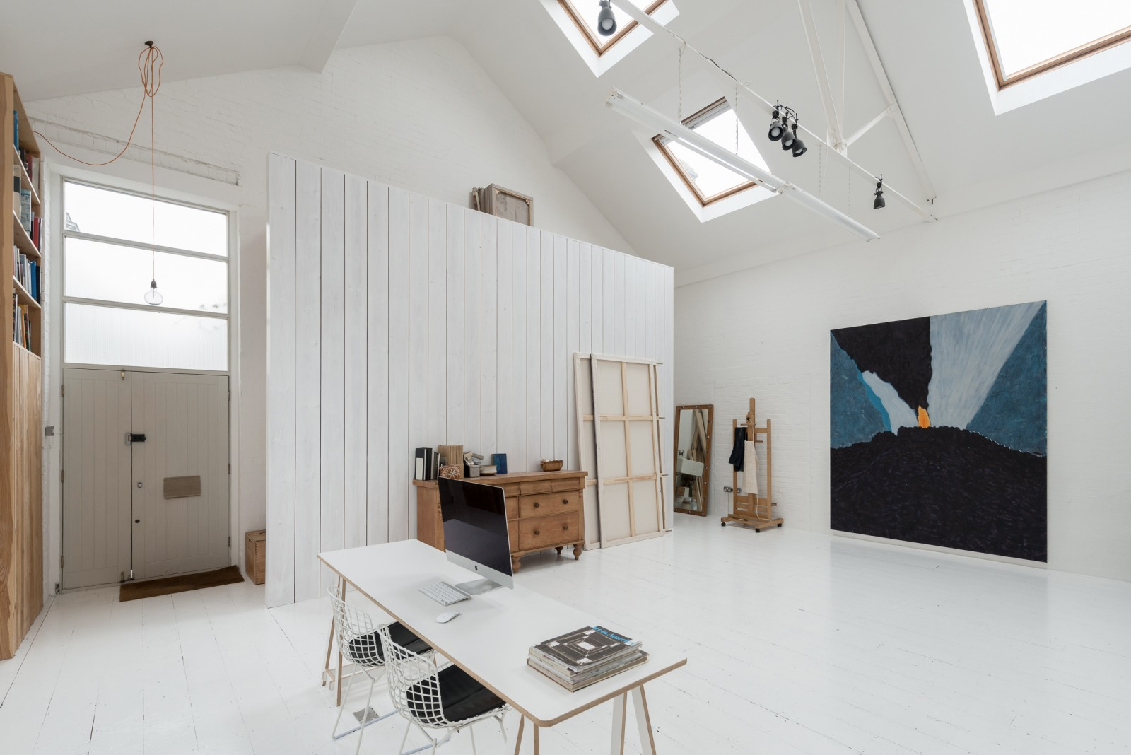 Converted laundry for sale - Haydon Way, Wandsworth, £1.4m via The Modern House