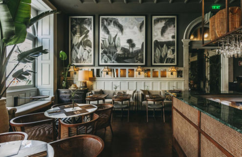 Porto's Torel 1884 hotel draws on the city's seafaring past