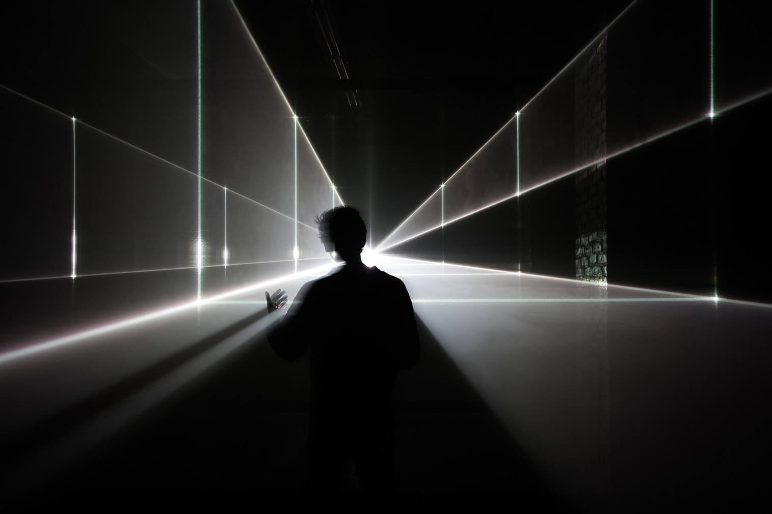 'Vanishing Point'. Courtesy of United Visual Artists / The Store x The Vinyl Factory