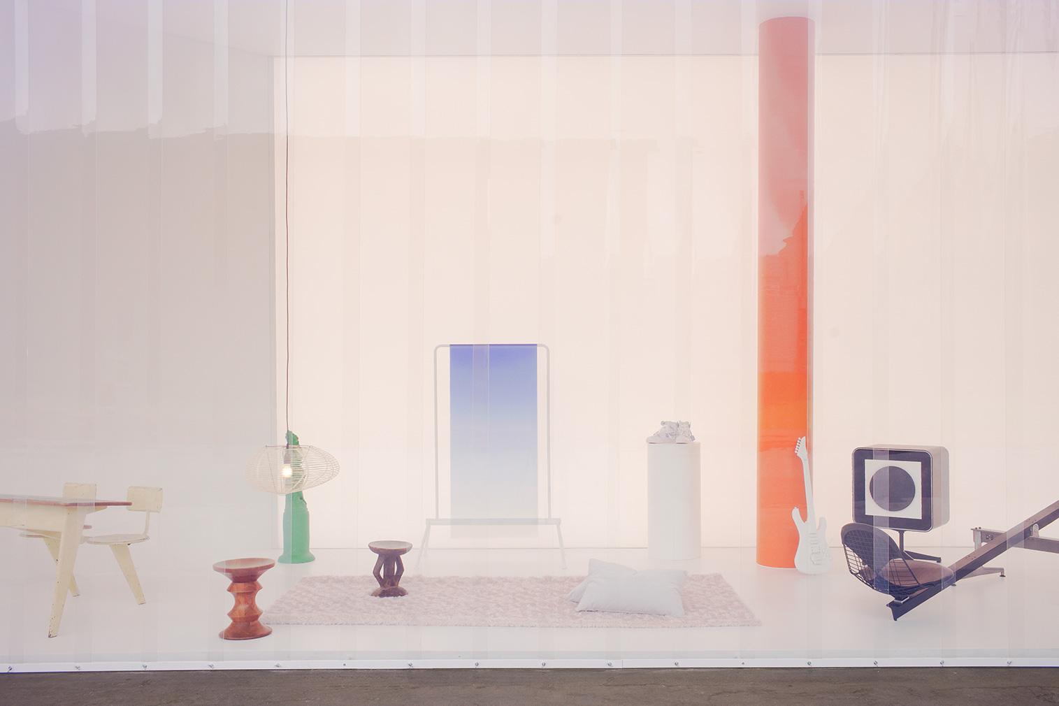 Virgil Abloh x Vitra installation. Photography: Julien Lanoo