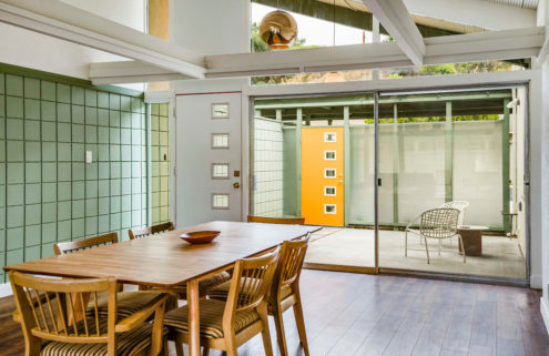 Cute Clifton Jones Jr midcentury duplex hits the market in Long Beach for $1.05m