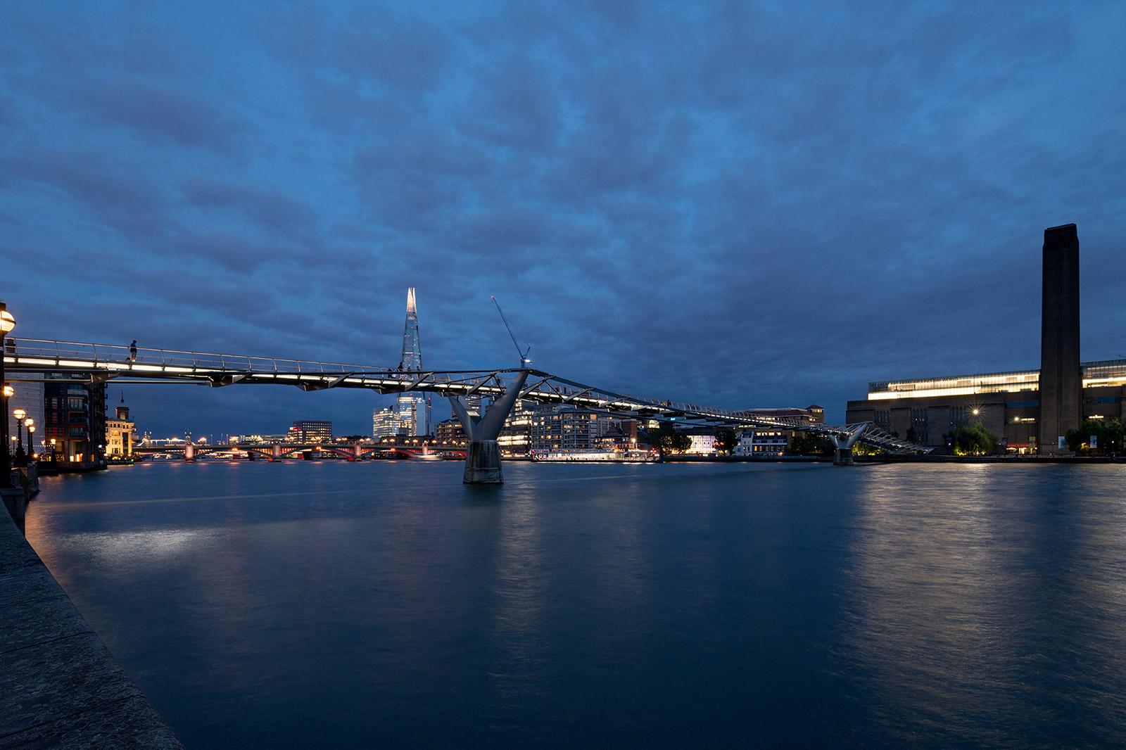 Millennium Bridge. Photography: James Netwon