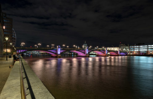 London's Thames is aglow with new LED artworks