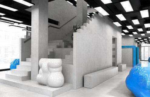 Axel Arigato's new Copenhagen flagship pays homage to Brutalism
