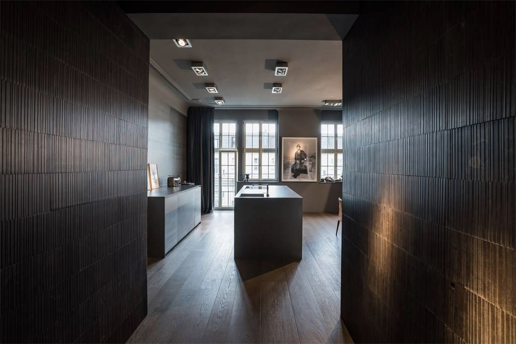 Berlin property for sale: moody monochrome Charlottenburg apartment for sale via Berlin Sotheby's International Realty