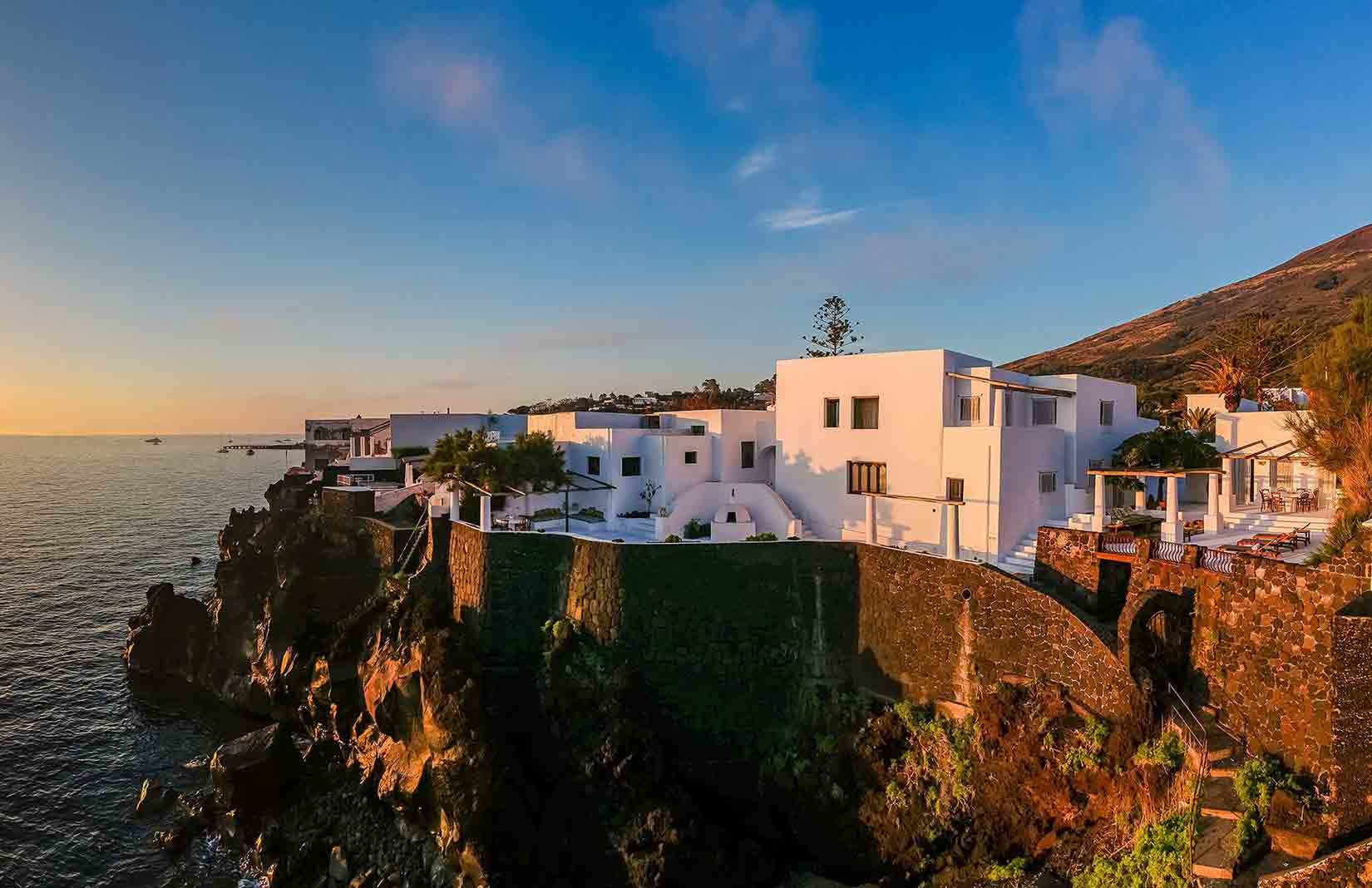 Villa Dolce and Gabbana on Stromboli is for sale