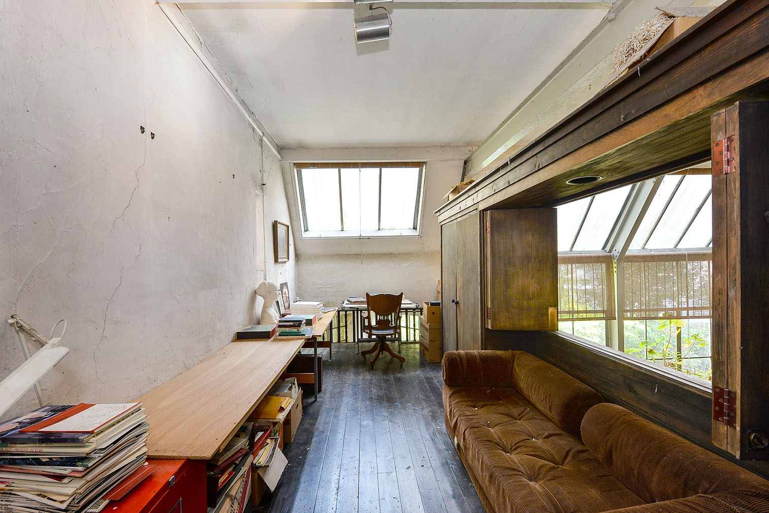 Grive End Road property Converted from a sculptor's studio into a family home