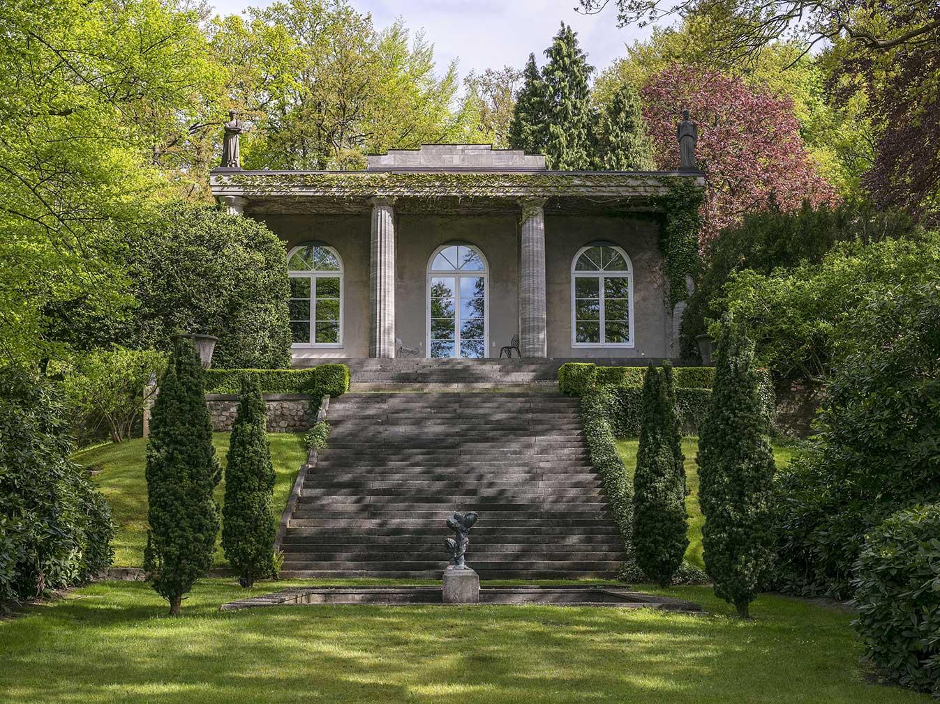 Karl Lagerfeld's former Hamburg home, Villa Jako