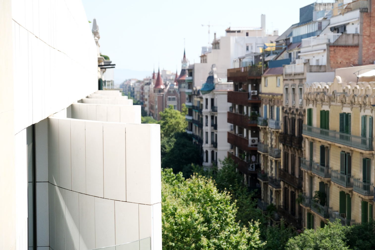 Sir Victor hotel in Barcelona - view from the top