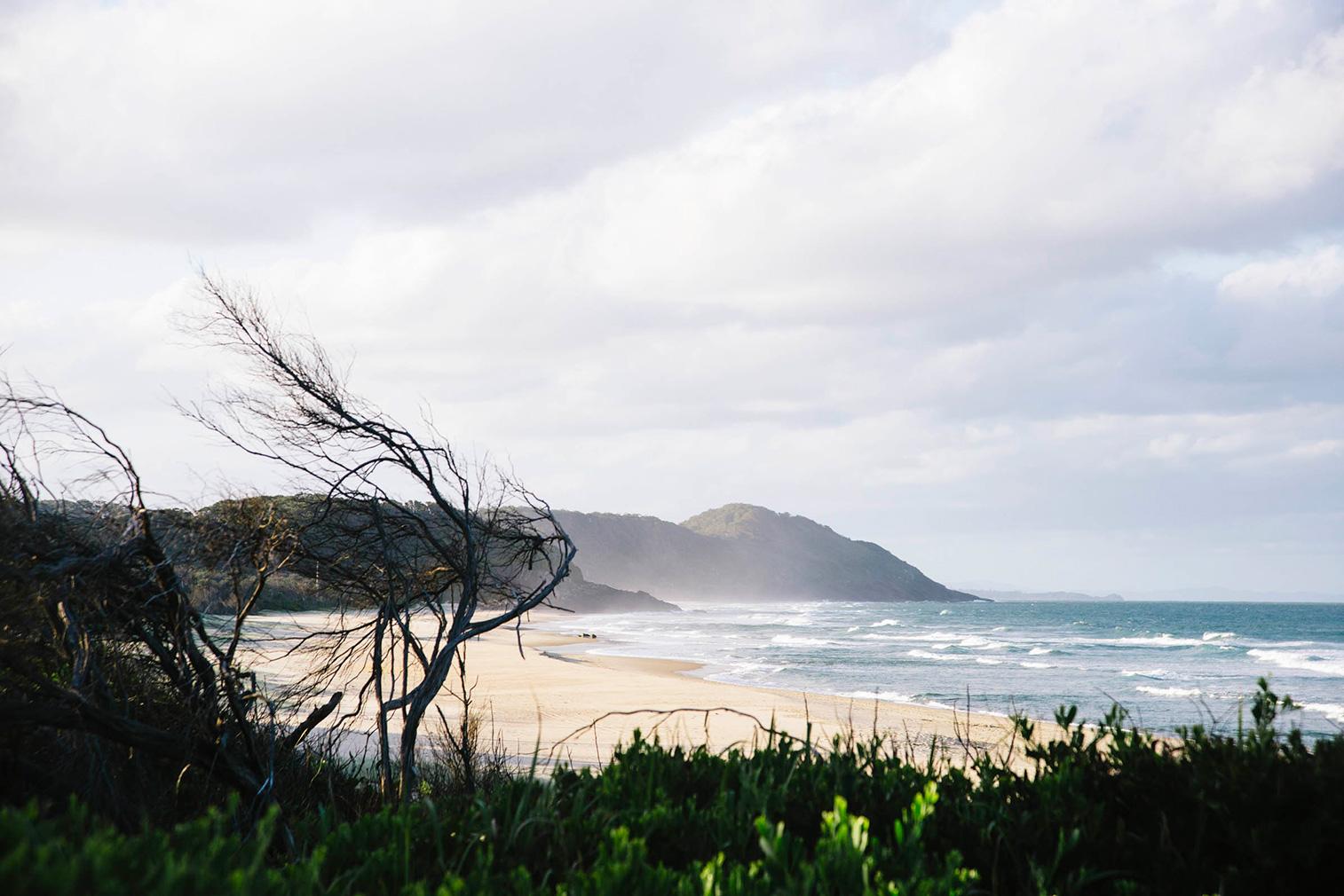 Coastal views can be enjoyed from Way Way house
