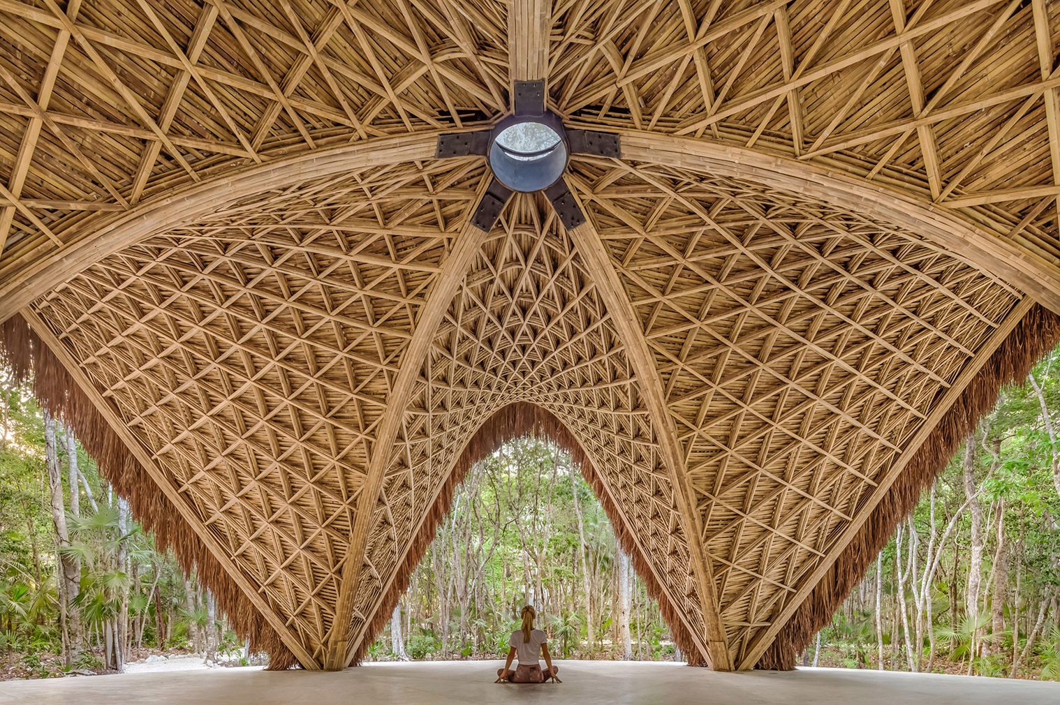 These yoga studios set a new standard for calming design: Luum Temple in Tulum, Mexico