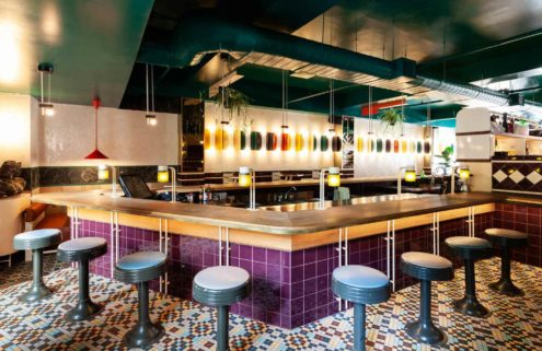 Montreal wine bar Vinvinvin is a colourful addition to the city's bar scene