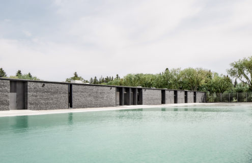 This 'living' swimming pool is a first in Canada