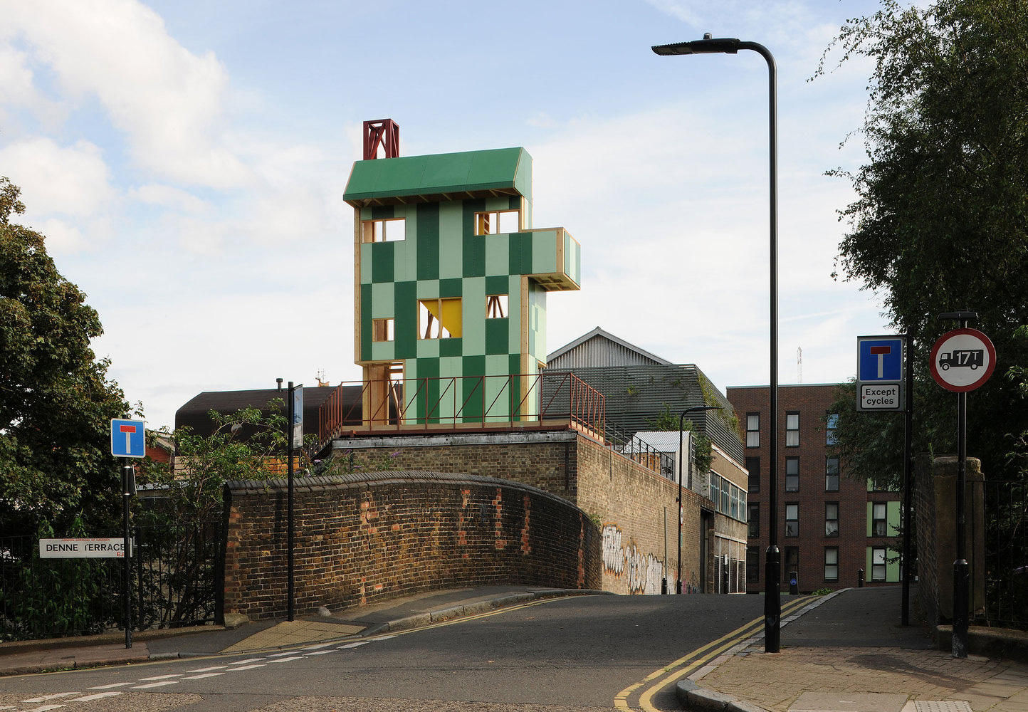 Maich Swift Architects has designed this year's annual Antepavilion in East London