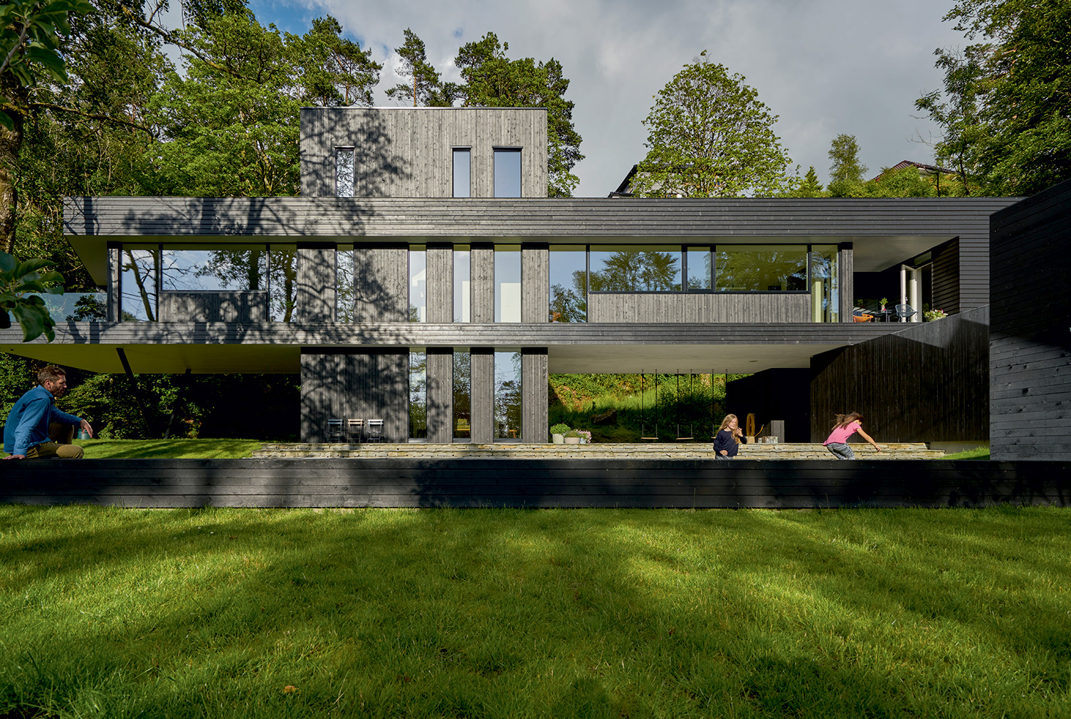 Villa S by Saunders Architecture in Flatanger, Norway. Photography: Bent René Synnevåg