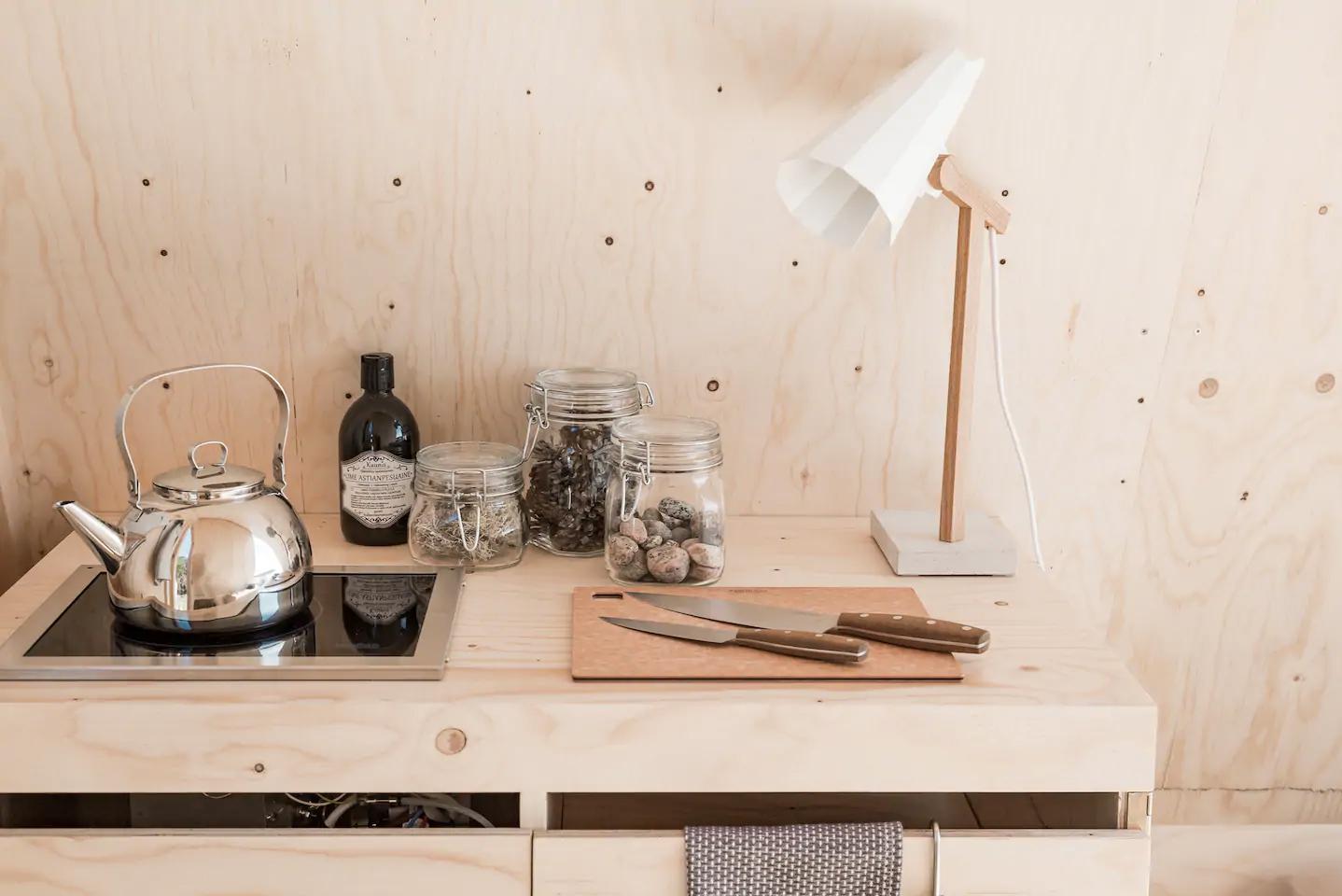 Nolla A-frame cabin lets you live off-grid in Helsinki